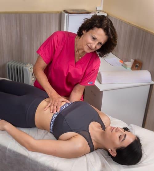 сеанс остеопатии с Галиной Почебут